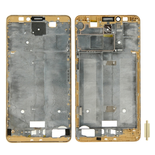 For Huawei Ascend Mate 7 Front Housing LCD Frame Bezel Plate(Gold)