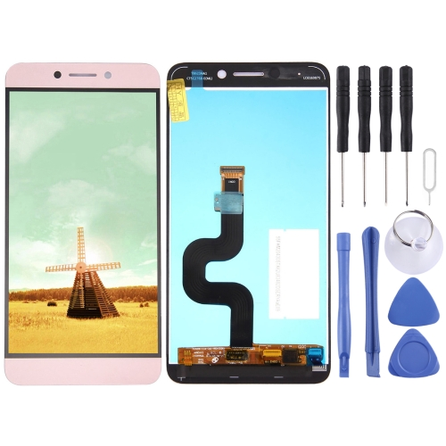 Buy iPartsBuy for Letv Le 2 / X620 LCD Screen + Touch Screen Digitizer Assembly (Rose Gold) for $23.34 in SUNSKY store