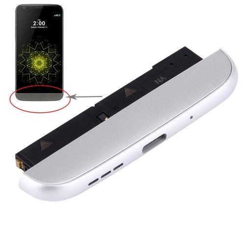 iPartsBuy for LG G5 / H840 / H850 Bottom (Charging Dock + Microphone + Speaker Ringer Buzzer) Module, Silver