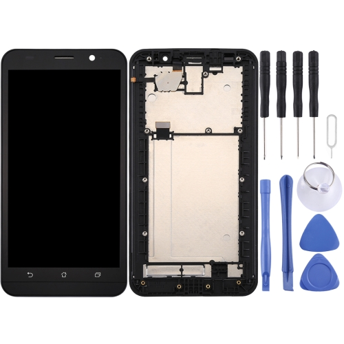 LCD Screen and Digitizer Full Assembly with Frame for Asus Zenfone 2 / ZE551ML / Z00AD / Z00ADB / Z00ADA (Black)