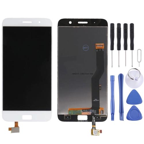 LCD Screen and Digitizer Full Assembly for Lenovo ZUK Z1 (White)