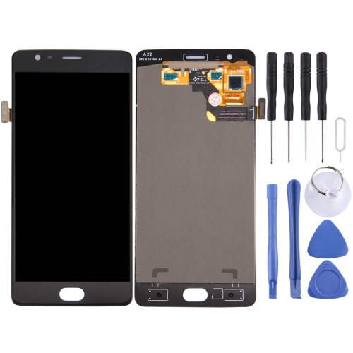 LCD Screen and Digitizer Full Assembly for OnePlus 3 (A3003 Version)(Black)