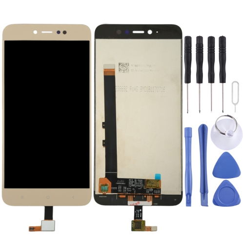 Buy iPartsBuy Xiaomi Redmi Note 5A Pro / Prime LCD Screen + Touch Screen Digitizer Assembly, Gold for $22.45 in SUNSKY store