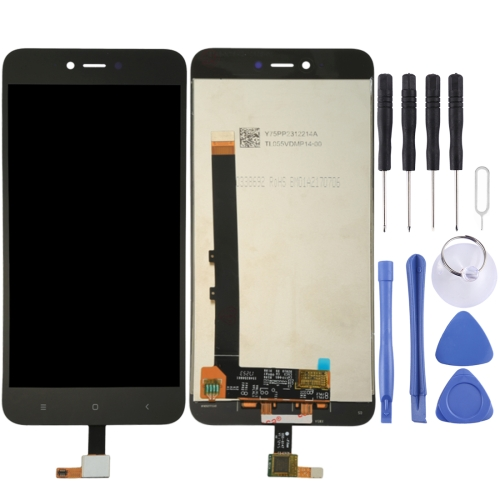 For Xiaomi Redmi Note 5A LCD Screen and Digitizer Full Assembly(Black)
