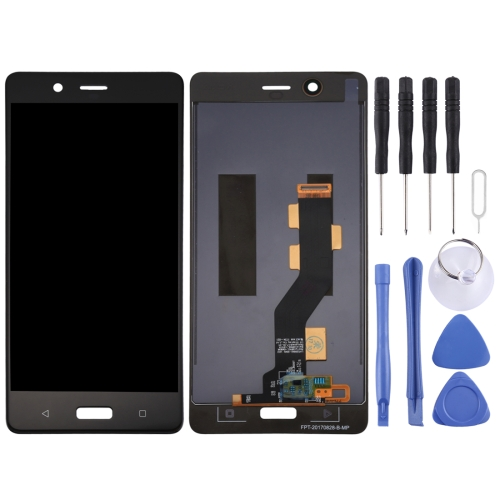 LCD Screen and Digitizer Full Assembly for Nokia 8 (Black)