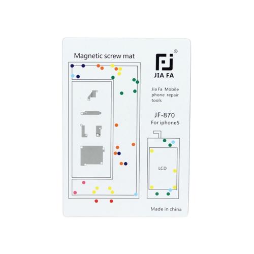 JIAFA Magnetic Screws Mat for iPhone 5