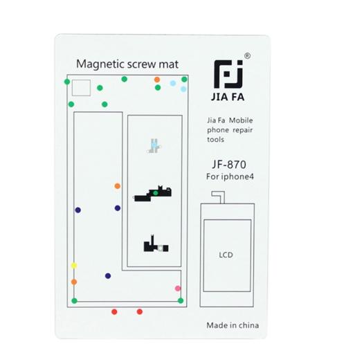 JIAFA Magnetic Screws Mat for iPhone 4
