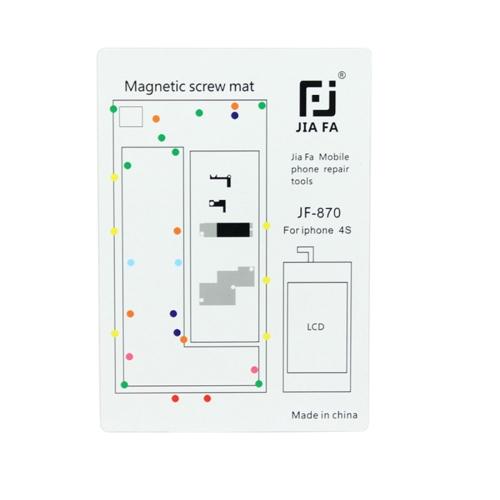 JIAFA Magnetic Screws Mat for iPhone 4S