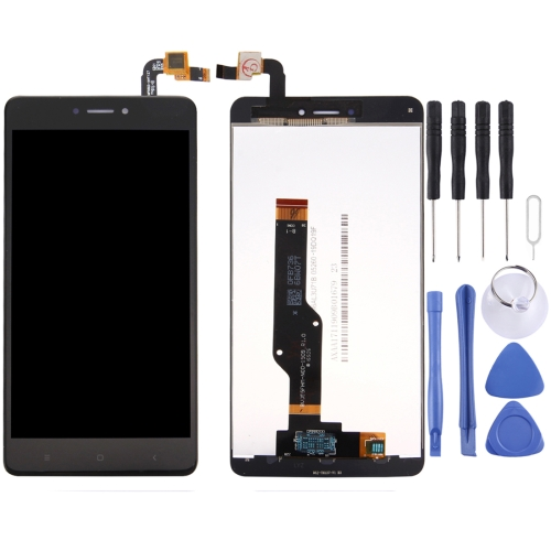 For Xiaomi Redmi Note 4X / Redmi Note 4 Global Version Snapdragon 625 LCD Screen and Digitizer Full Assembly(Black)