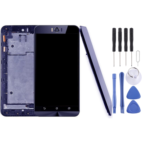 for ASUS Zenfone Selfie ZD551KL Z00UD LCD Screen and Digitizer Full Assembly with Frame(Black)