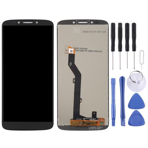 LCD Screen and Digitizer Full Assembly for Motorola Moto E5(Black)