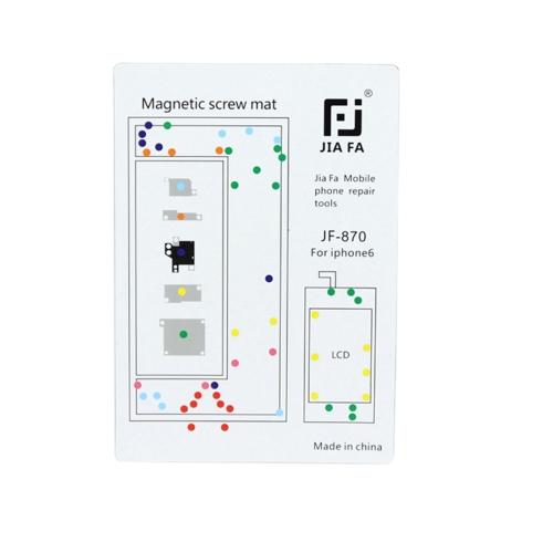 JIAFA Magnetic Screws Mat for iPhone 6