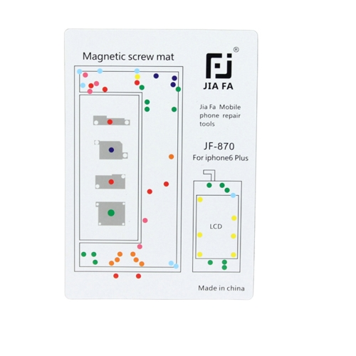 JIAFA Magnetic Screws Mat for iPhone 6 Plus