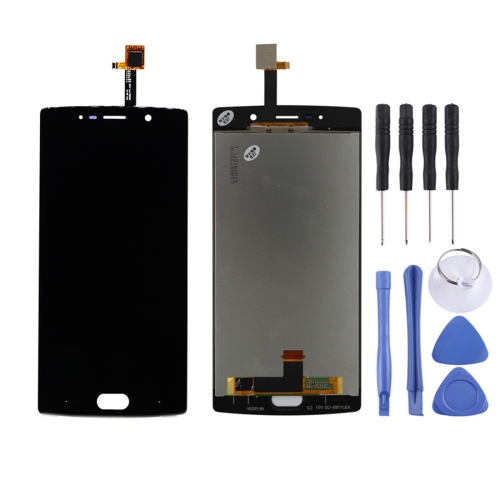 LCD Screen and Digitizer Full Assembly for Doogee BL7000(Black)