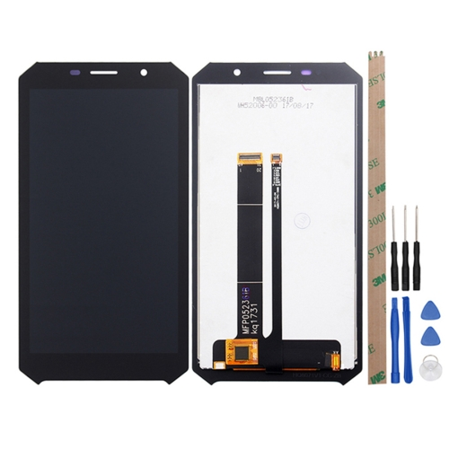 LCD Screen and Digitizer Full Assembly for Doogee S60 / S60 Lite(Black) аксессуары для фотостудий brand new ems dhl fedex s60 3 5 60 steadycam steadicam dslr s60