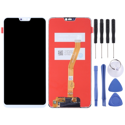Original LCD Screen and Digitizer Full Assembly for Vivo Y85(White)
