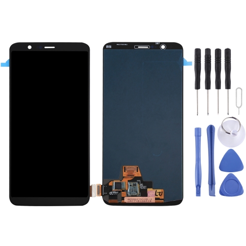 OnePlus 5T LCD Screen and Digitizer Full Assembly(Black)
