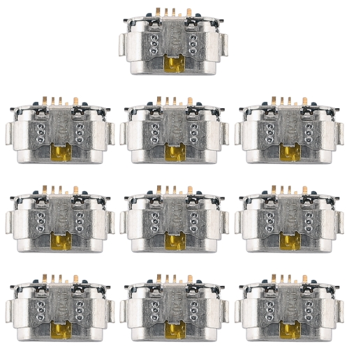 10 PCS Charging Port Connector for Huawei Honor 5A / G9 / P9 Lite 2016 10 pcs 6 hole connector fiber optic for kavo handpiece