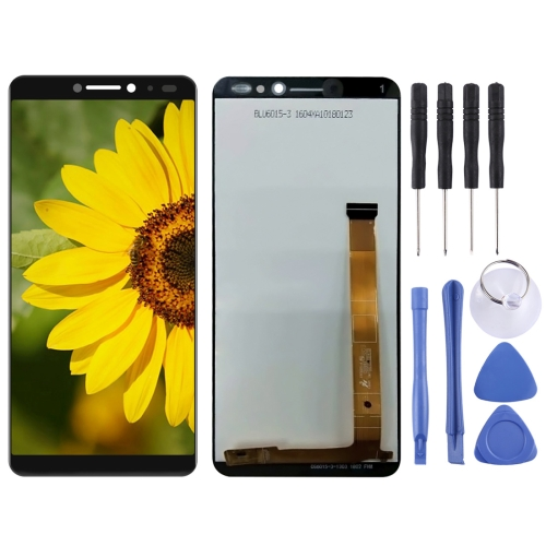 LCD Screen and Digitizer Full Assembly for Alcatel 3V / 5099D (Black)
