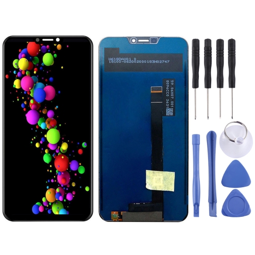 LCD Screen and Digitizer Full Assembly for Asus Zenfone 5 2018 Gamme ZE620KL (Black)