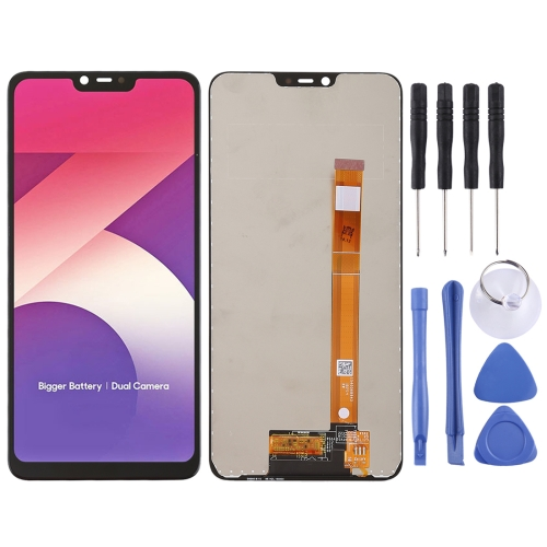LCD Screen and Digitizer Full Assembly for OPPO A5(Black)