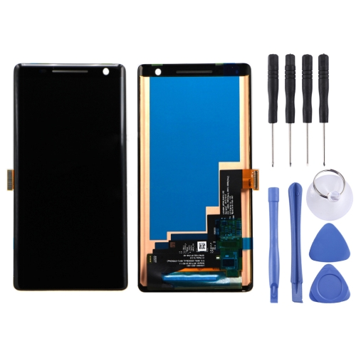 LCD Screen and Digitizer Full Assembly for Nokia 8 Sirocco(Black)
