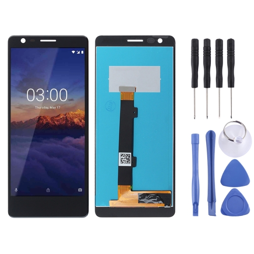 LCD Screen and Digitizer Full Assembly for Nokia 3.1 (Black)