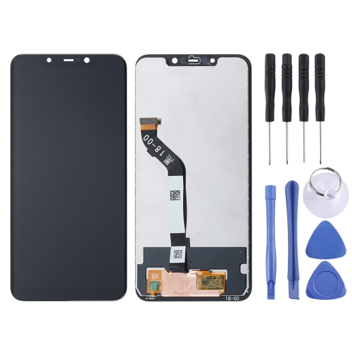 LCD Screen and Digitizer Full Assembly for Xiaomi Pocophone F1 (Black)