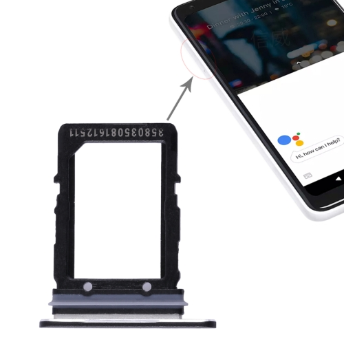 SIM Card Tray for Google Pixel 2 XL(Black)