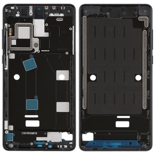 Middle Frame Bezel with Side Keys for Xiaomi Mi Mix2 (Black)