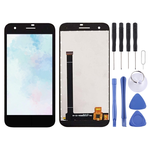 XIAOMIN LCD Screen and Digitizer Full Assembly for Vodafone Smart E8 VFD510 Replacement Part Replacement Color : Black Black