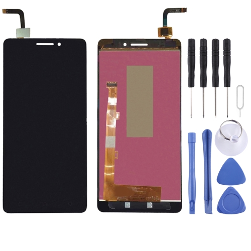LCD Screen and Digitizer Full Assembly for Lenovo VIBE P1M / P1MC50(Black)