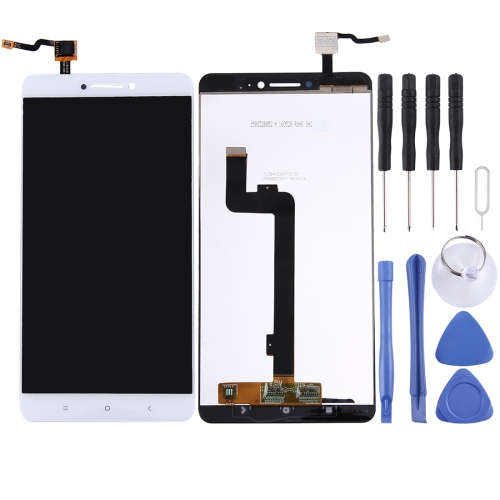 LCD Screen and Digitizer Full Assembly for Xiaomi Mi Max (White) Lead Time: 2~5 Days.
