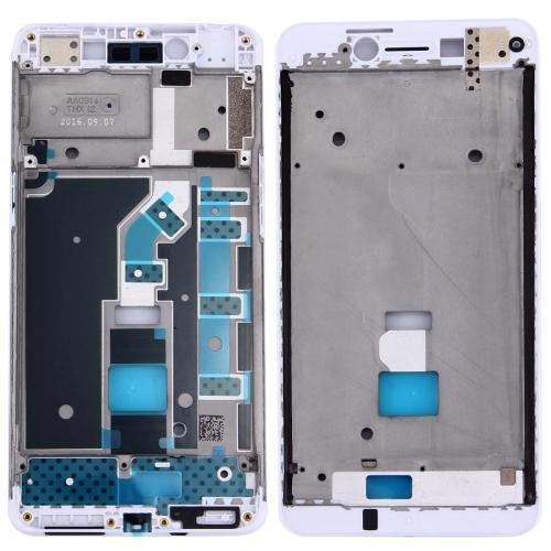 Front Housing LCD Frame Bezel Plate for OPPO A37(White)