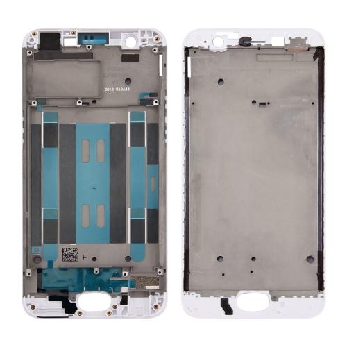 Front Housing LCD Frame Bezel Plate for OPPO A57(White)