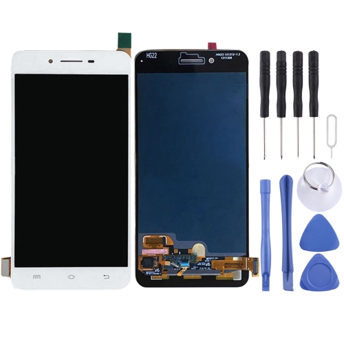 Vivo X6 LCD Screen and Digitizer Full Assembly(White)
