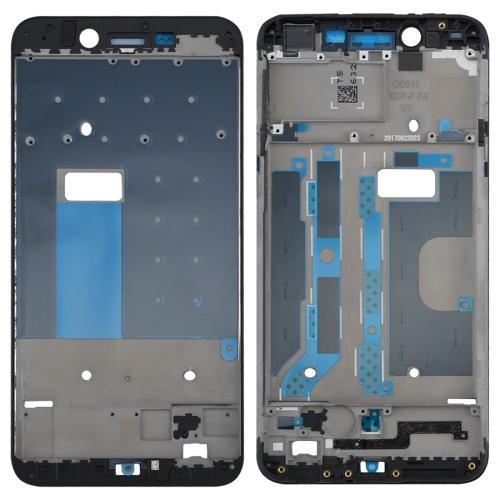 OPPO A77 / F3 Front Housing LCD Frame Bezel Plate(Black)