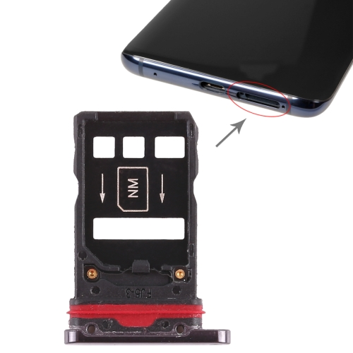 2 x SIM Card Tray for Huawei Mate 20 Pro (Black)