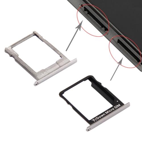 For Huawei P8 Lite SIM Card Tray and Micro SD Card Tray(Black)