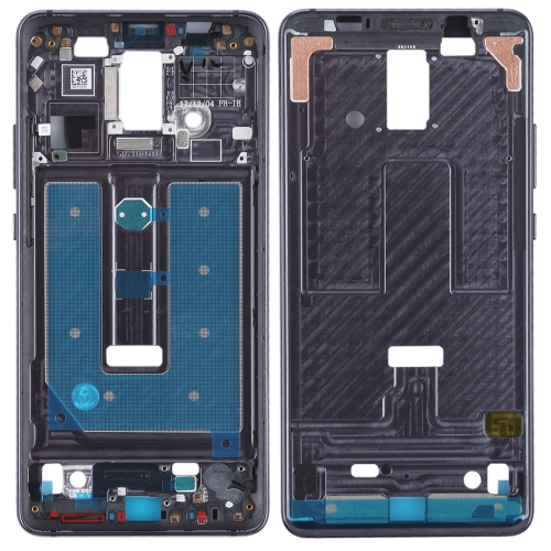 Front Housing LCD Frame Bezel Plate for Huawei Mate 10 Pro(Black)