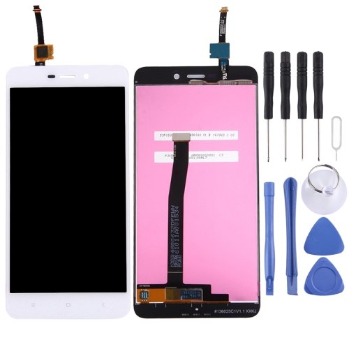 LCD Screen and Digitizer Full Assembly for Xiaomi Redmi 4A(White)