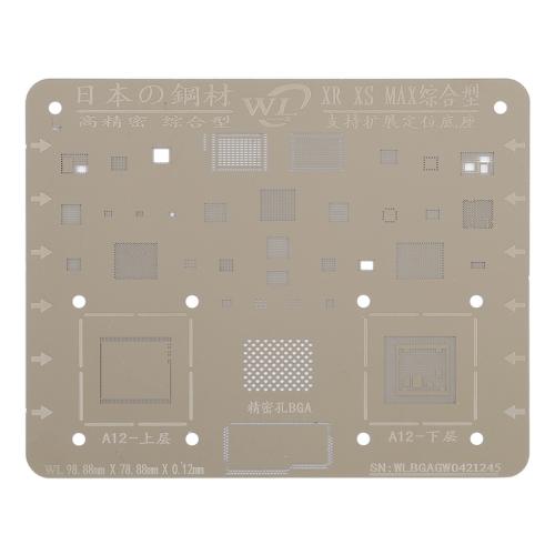 Plant Tin Plate Mesh BGA Stencil for iPhone XR / XS / Max