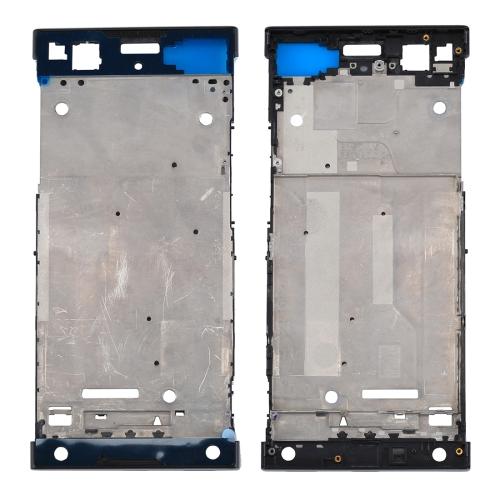 for Sony Xperia XA1 Front Housing LCD Frame Bezel Plate(Black)