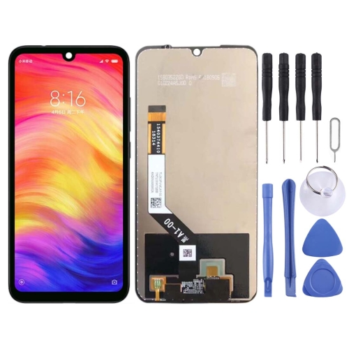 LCD Screen and Digitizer Full Assembly for Xiaomi Redmi Note 7 / Note 7 Pro(Black)