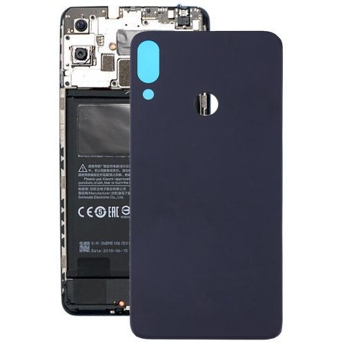 Frosted Battery Back Cover for Tecno Camon 11(Black)