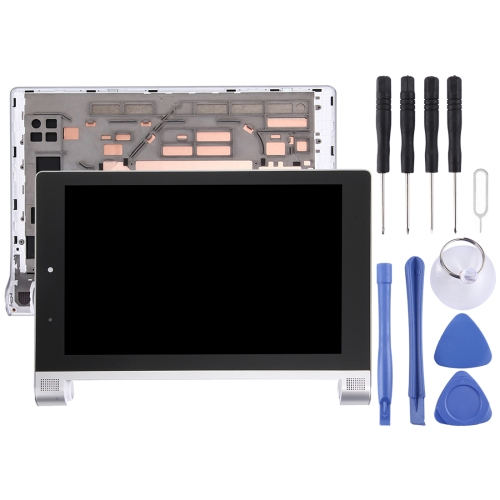 Buy iPartsBuy 8 inch Lenovo YOGA Tablet 2 830 / 830f LCD Screen + Touch Screen Digitizer Assembly with Frame, Silver for $30.89 in SUNSKY store