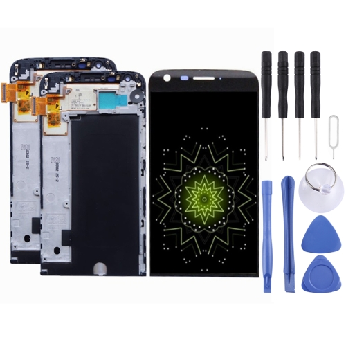 iPartsBuy LCD Screen + Touch Screen Digitizer Assembly with Frame