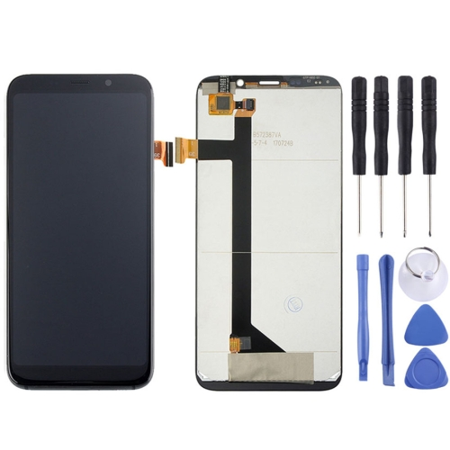 LCD Screen and Digitizer Full Assembly for BLUBOO S8(Black)