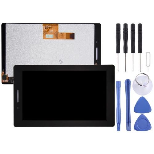 LCD Screen and Digitizer Full Assembly for Lenovo Tab3 7 Essential / Tab3-710f (Black)