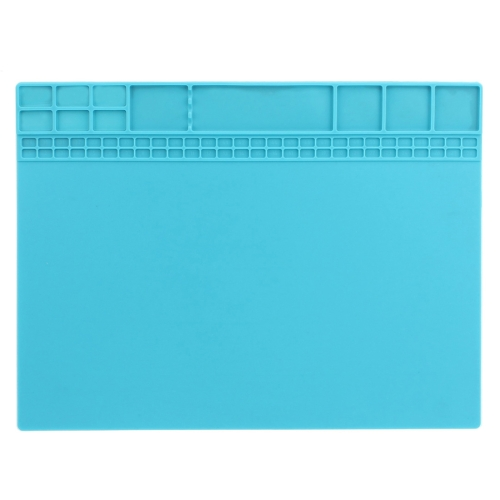 JIAFA P8840 Maintenance Platform Repair Insulation Pad Silicone Mats(Blue)